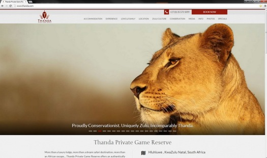 Thanda Website 2