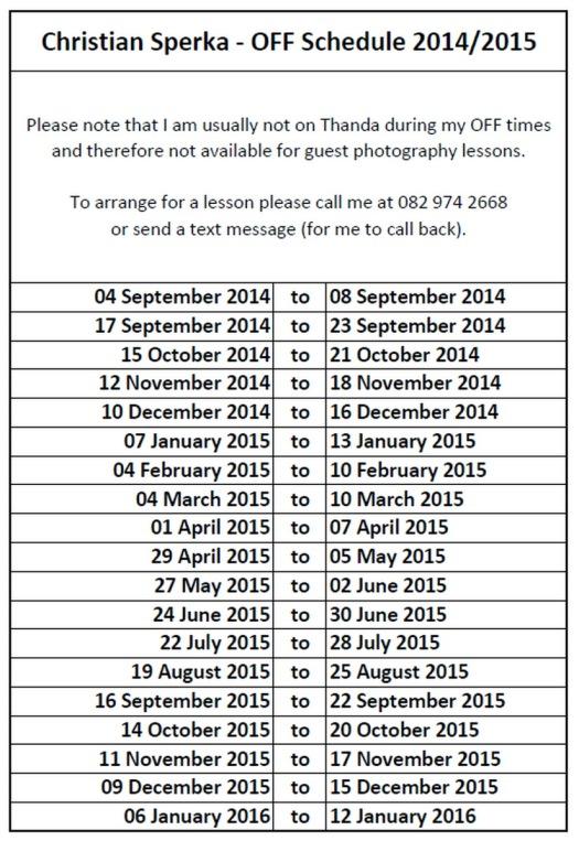 Schedule20140910