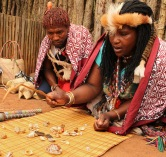 A Sangoma and her apprentice