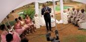 Bridesmaids, Flower Girl, Ring Boy, Groomsmen and a Christian Minister - a wedding standard :-)