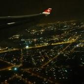 Johannesburg Departure