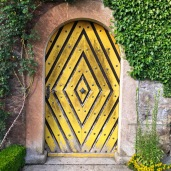 What a door! @ Schloss Heidegg