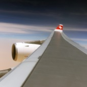 Over the wing ...