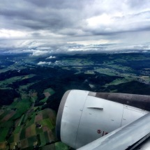 * Takeoff from Switzerland ...