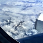 * A glimpse of the alps ...