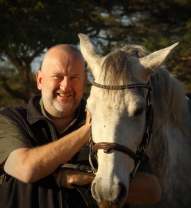 Me and Thanda - This young horse is named 'Love' the same as my home game reserve ...