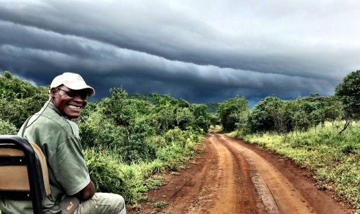 ... and Bheki's special smile as the rains approached ...