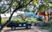 ... at the Thanda Safari Lodge